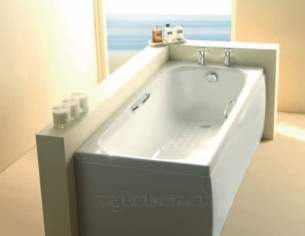 Eastbrook Baths -  23.2581 Swallow Tg 1800x700 Carronite Wh