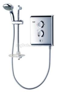 Triton Electric Showers -  Triton T80z Shower 10.5 Kw Chrome Plated