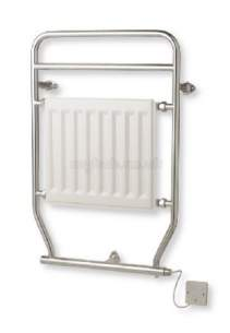 Myson Towel Warmers -  Myson Eo150 Electric Towel Warmer White