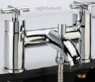 Roper Rhodes Showers -  Roper Rhodes Astin Bath/shower Mixer Deck Mounted