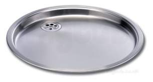 Carron Trade Sinks -  Carron Phoenix 101.0042.588 Stainless Steel Carisma Round Drainer