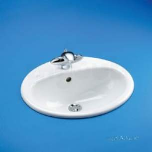 Ideal Standard Luxury -  Ideal Standard Tempo E6570 530mm 2th C/top Basin Wh