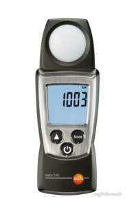 Testo Core Products -  Testo 540 Lux Meter 0560 0540