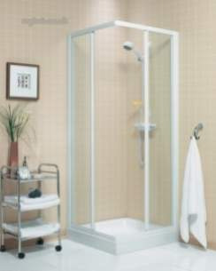 Roman Shower Enclosures -  Roman Jupiter 1000mm Sliding Door Sl/cl