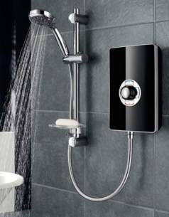 Triton Electric Showers -  Triton Aspirante 9.5kw Gloss Black