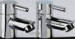 Tavistock Brassware -  Tavistock Kinetic Bath Taps Pair