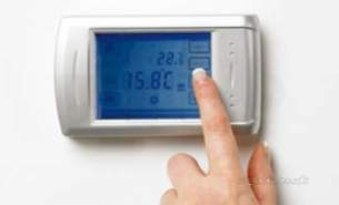 Underfloor Heating Manifolds and Ancillaries -  Touch Screen Program Thermostat Silver Obsolete Best Alternative Is 517282