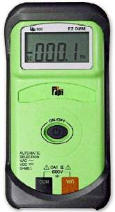 Test Products International Detectors -  Tpi 100 Ez Multimeter Digital Palm Size