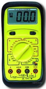 Test Products International Detectors -  Tpi 133 Multimeter Digital Manual Range