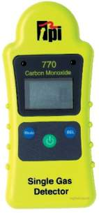 Test Products International Detectors -  Tpi 770 Carbon Monoxide Monitor Compact