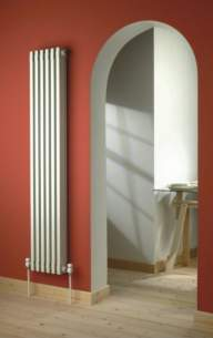 The Radiator Company Towel Warmers and Decorative Rads -  The Radiator Company Ekos Extra 1070 X 50 White