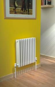 The Radiator Company Towel Warmers and Decorative Rads -  The Radiator Company Ekos 668x50 White