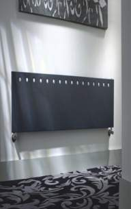 The Radiator Company Towel Warmers and Decorative Rads -  Flat Single Horizontal 495x2025 Ral