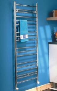 The Radiator Company Towel Warmers and Decorative Rads -  The Radiator Company Iris 805x520 Stainless Steel