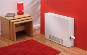 The Radiator Company Towel Warmers and Decorative Rads -  Lst 400 High 1200 X 125 Inc Trv White