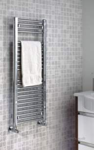 The Radiator Company Towel Warmers and Decorative Rads -  The Radiator Company Lupin 1650 X 450 Chrome