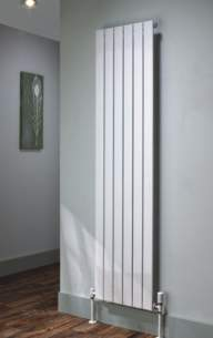 The Radiator Company Towel Warmers and Decorative Rads -  Picchio Double Vertical 1510 X 305 White
