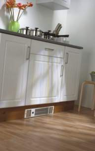 The Radiator Company Towel Warmers and Decorative Rads -  Plinth Electric Kitchen Heater Plinelec