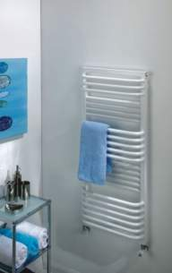 The Radiator Company Towel Warmers and Decorative Rads -  The Radiator Company Poll 1055x450 White