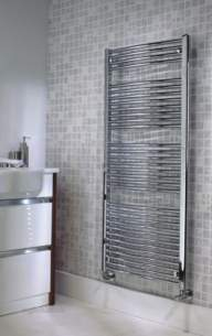 The Radiator Company Towel Warmers and Decorative Rads -  The Radiator Company Poppy 1300 X 600 White