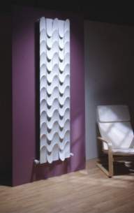 The Radiator Company Towel Warmers and Decorative Rads -  The Radiator Company Skin Double 2040 X 503 White
