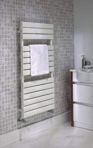 The Radiator Company Towel Warmers and Decorative Rads -  Tornado Towel Rail Single 1440 X 486 W