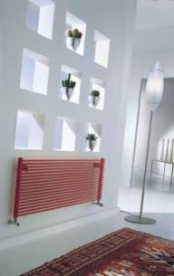 The Radiator Company Towel Warmers and Decorative Rads -  Trc 13 Double Horizontal 584x1000 White