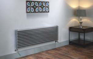 The Radiator Company Towel Warmers and Decorative Rads -  Trc 25 Double Horizontal 512x1000 Ral