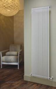 The Radiator Company Towel Warmers and Decorative Rads -  Trc 25 Single Vertical 1800 X 224 White