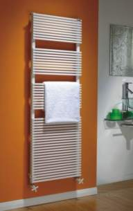 The Radiator Company Towel Warmers and Decorative Rads -  Trim Towel Rail 1520 X 500 White