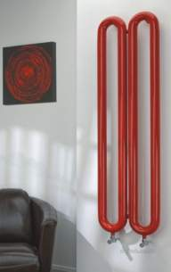 The Radiator Company Towel Warmers and Decorative Rads -  Tuboni Double Vertical 1700 X 210 Ral