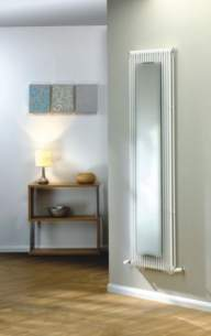 The Radiator Company Towel Warmers and Decorative Rads -  Vision 13 S 1700 X 512 With Mirror A Ral