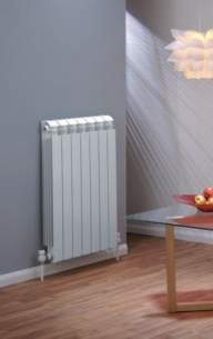 The Radiator Company Towel Warmers and Decorative Rads -  The Radiator Company Vox 690 X 80 White