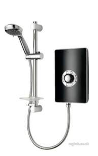 Triton Electric Showers -  Triton Aspirante 9.5kw Pearl Black
