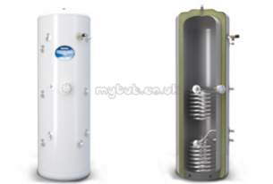 Range Tribune Stainless Unvented Cylinders -  Range Tribune Tt210 S/s Unvent Twin Coil