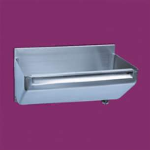 Pland Catering Sinks and Stands -  2400mm Htm64 Surgeons Scrub Up Trough Rh