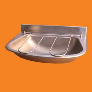 Pland Catering Sinks and Stands -  480 X 335x135mm W/m Bucket Sink C/w Grid Ss Large