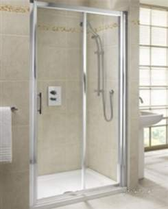 Twyford Outfit Total Install Showers -  Twyford Geo6 Sliding Door 1100mm G67500cp Pack