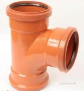 Polypipe Underground Drainage -  160mm X 87.5 Deg All Socket Juncn Ug623