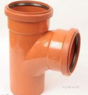 Polypipe Underground Drainage -  315mm X 45d D/s U/eql Junct 200mm Ug1217