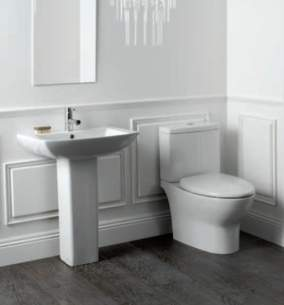 Eastbrook Sanitary Ware -  56.0003 Ultima Pan Plus Seat White