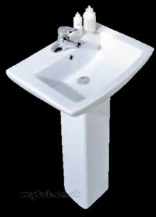 Eastbrook Sanitary Ware -  56.0001 Ultima Basin 590mm 1th White