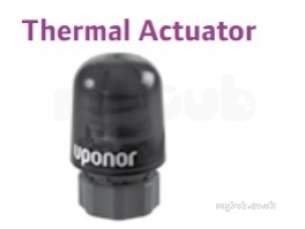 Uponor Underfloor Heating -  Uponor Fm/fr Mfld Thermal Actuator 24v