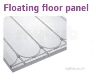 Uponor Underfloor Heating -  Uponor Ufh Styro Plate 20 1200 X 790 X 70mm