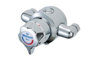 Rada And Meynell Commercial Showers -  Meynell V8/3 Exposed Thermo Mixer
