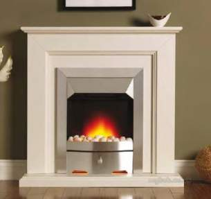 Valor Electric Fires -  Valor Carlton Longlite Suite Brass/mahog