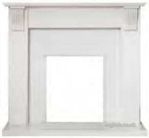 Valor Electric Fires -  Valor Sotherby White M/marble Surround