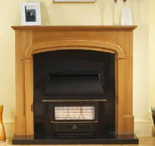 Valor Gas Fires and Wall Heaters -  Valor Black Beauty Radiant 4 Ng 05347a1