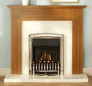 Valor Gas Fires and Wall Heaters -  Valor Dream Balanced Flue Fire Chrome
