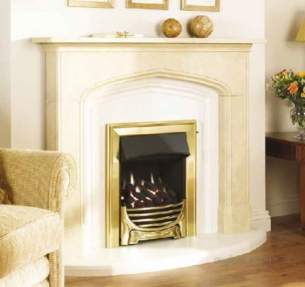 Baxi Gas Fires and Wall Heaters -  Valor Decadent Bf Gas Fire Chrome